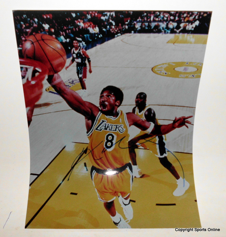 "Kobe Bryant Autographed ""Slam Dunk"", Ltd Edition of 1, Exclusive to Sports Online"