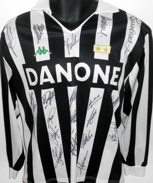 Juventus 1993 UEFA Cup Winners Team Signed Jersey
