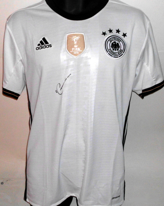 Franz Beckanbauer Germany 2014 World Cup Champions Jersey, Hand-Signed