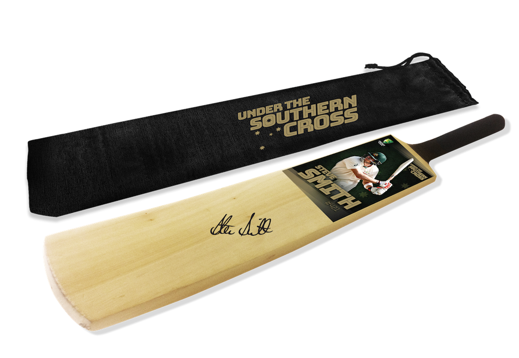 STARS OF THE AUSTRALIAN SUMMER – DAVID WARNER PERSONALLY AUTOGRAPHED CRICKET BAT