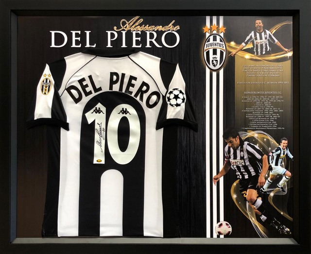 Alessandro Del Piero Personally Signed Juventus Shirt