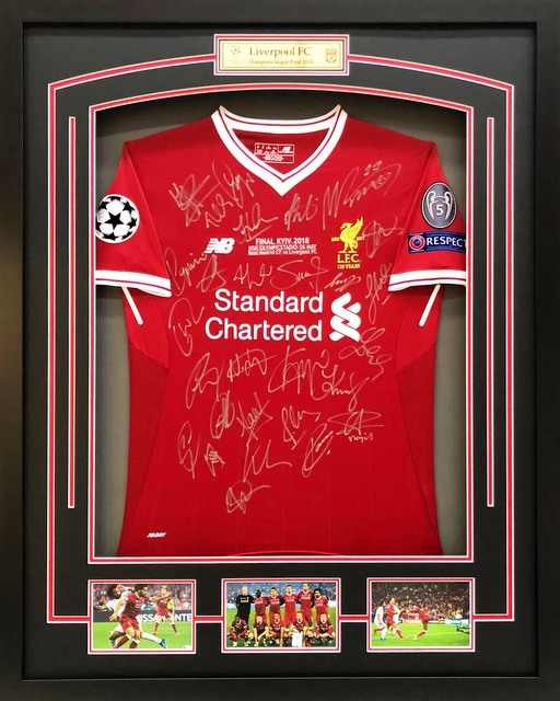Liverpool 2017-2018 EPL Team-Signed Jersey