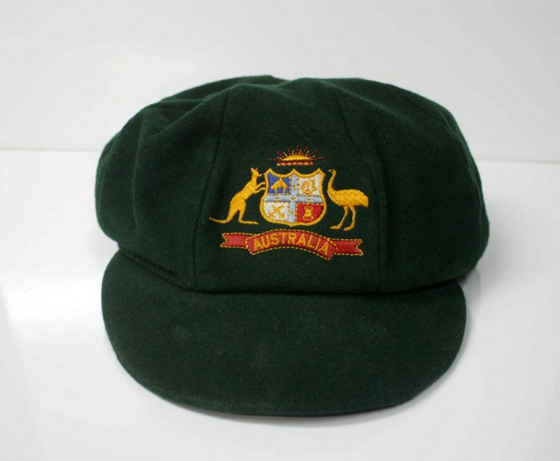 Stuart MacGill Baggy Green Cap, Test-Worn