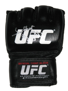 Frank Mir Signed Fight Glove