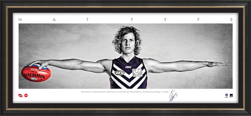 Nat Fyfe – Auto Signature Series WINGS