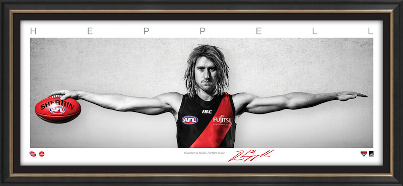 Dyson Heppell – Auto Signature Series WINGS Framed