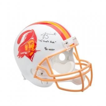 Jameis Winston Signed & Inscribed Buccaneers Proline Helmet, Steiner L/Ed of 13