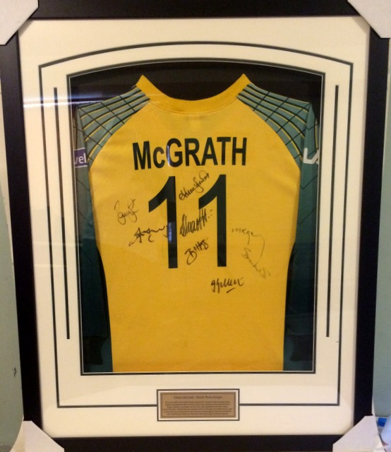 Glenn McGrath Multiple-Signed Match-Worn Australia ODI Pullover